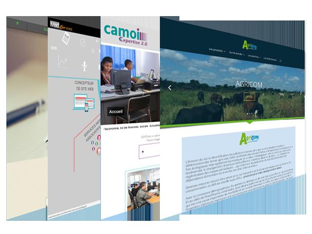 Communication - création de site web